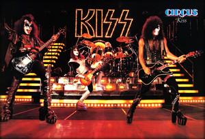 KISS ~San Diego, California...August 19, 1977 (Circus Poster)