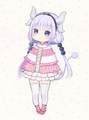 Kanna Kamui - Miss kobayashi's dragon maid - rainbow-unicorn fan art