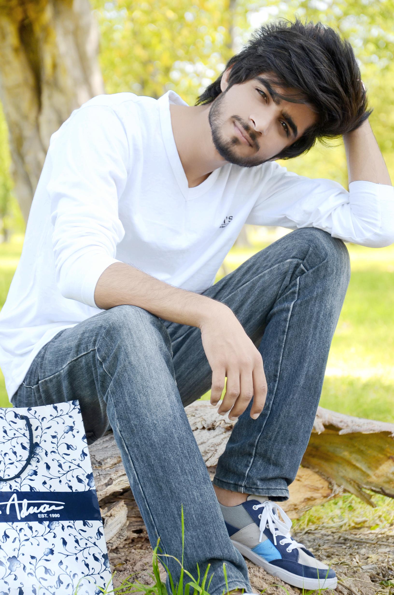 Kashif Baloch | Emo Boys New hair styles