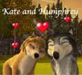 Kate and Humphrey  - alpha-and-omega fan art