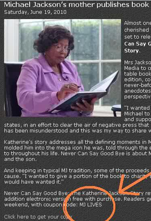 Katherine Jackson Releases Death Hoax clue