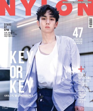 Key for Nylon Magazine 2017 June Issue