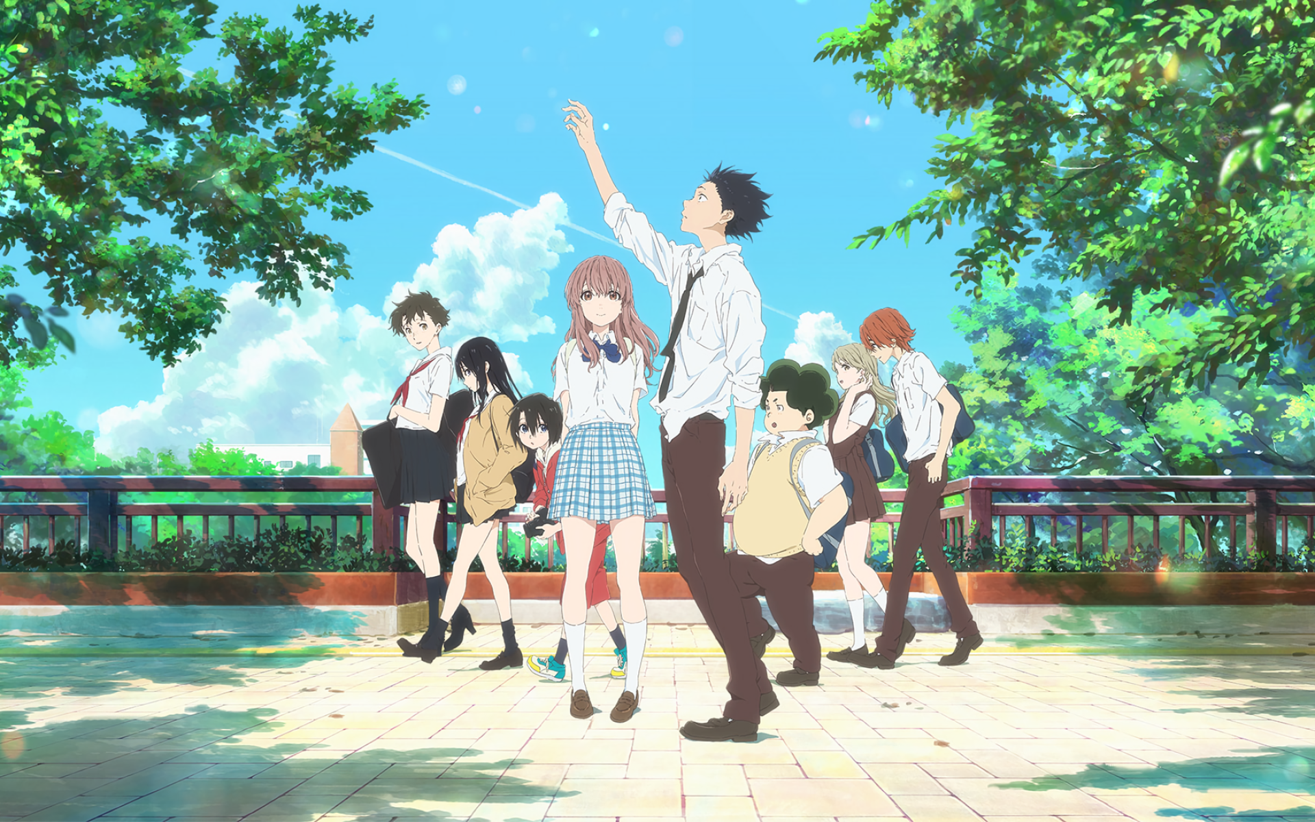 Koe no Katachi پیپر وال