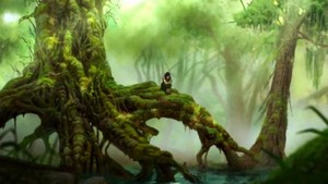Korra in Swamp