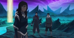 Korra in spirit world