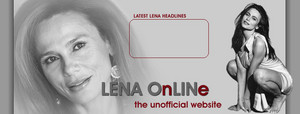 Lena Olin Online Header