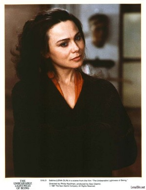 Lena Olin in The Unbearable Lightness of Being