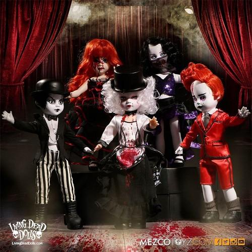 Living Dead Dolls karatasi la kupamba ukuta called Living Dead Dolls Series 33