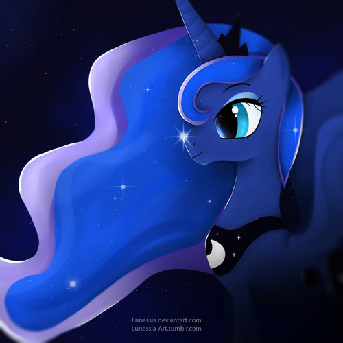 Princess Luna fond d'écran entitled Luna