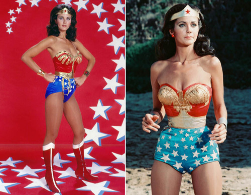 वंडर वुमन वॉलपेपर titled Lynda Carter as Wonder Woman