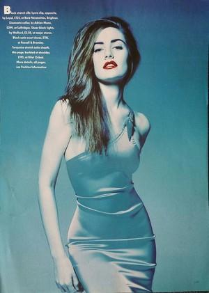 Mädchen Amick ~ British Vogue ~ 1990