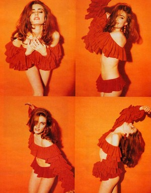 Mädchen Amick ~ In Fashion Magazine ~ 1991