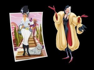 Madame A e Crudelia De Mon