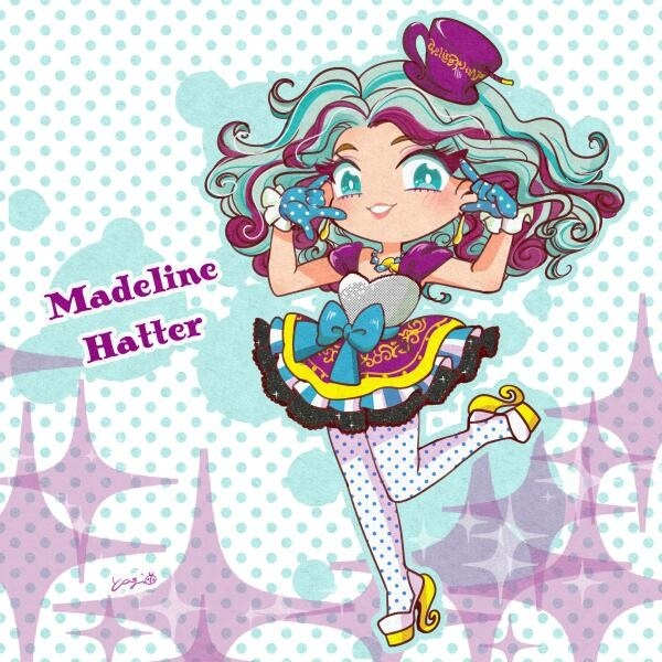 Mad Hatter With Teal Source Ever After High Images Madeline Fan Art Wallpaper And