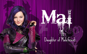 Mal Disney descendents