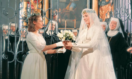 The Sound of Музыка Обои called Maria's Wedding