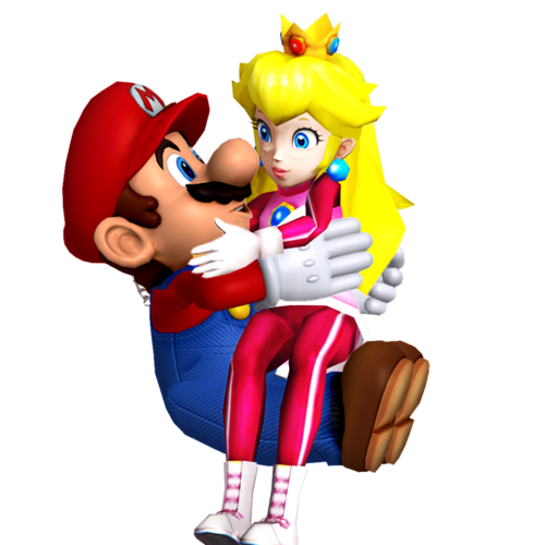 Mario and pêssego wallpaper entitled Mario and Princess pêssego Honeymoon amor