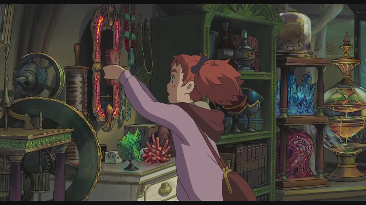 Mary and the Witch's blume Trailer 3 Screencaps