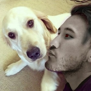 Me and puppo (Chica)