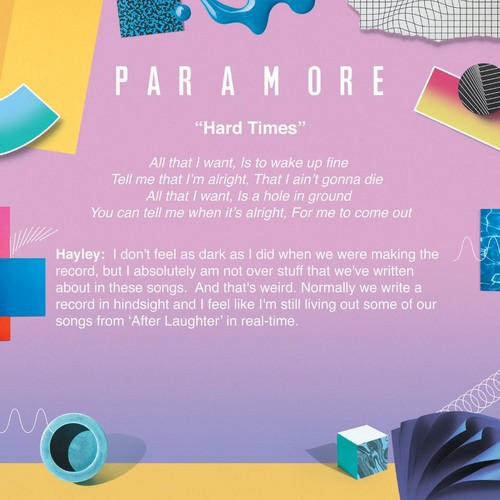Paramore wallpaper titled Meaning behind Hard Times