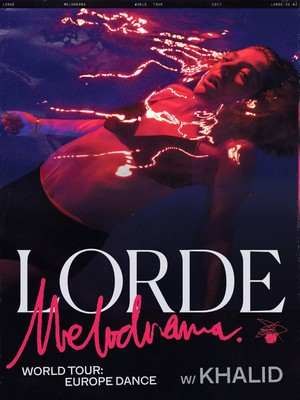 Melodrama world tour poster