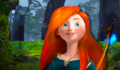 Merida with straight hair - disney-princess fan art