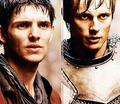 Merlin and Arthur - merlin-on-bbc photo