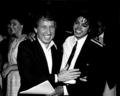 Michael And David Brenner  - michael-jackson photo