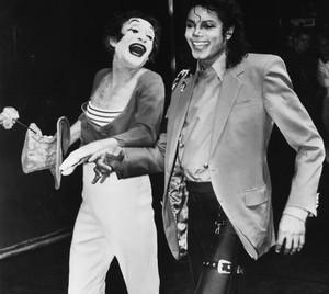 Michael And Marcel Marceau