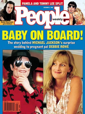 Michael And Debbie On The Cover Of People Magazine