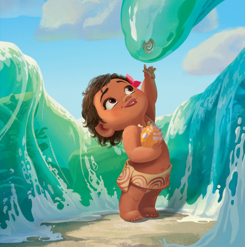 Moana wallpaper called Moana Storybook