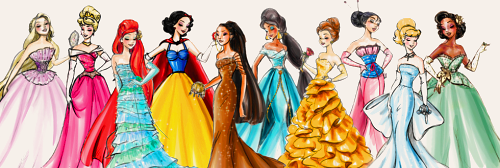 Modern DIsney Princess پیپر وال