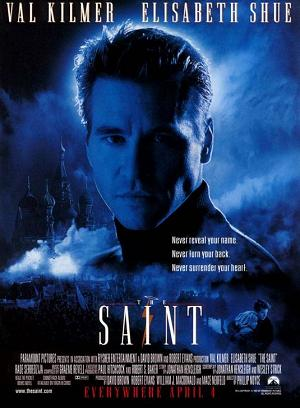 Movie Poster For 1997 Film, The Saint