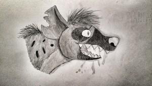 My Hyena Drawing