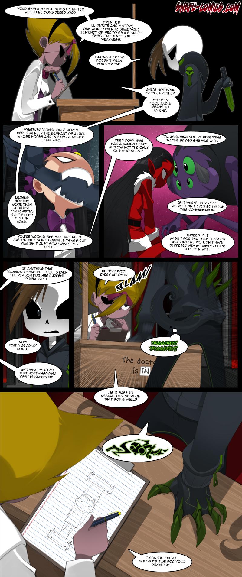 NO GOOD SPIDER GOES UNPUNISHED