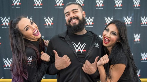 Billie Kay & Peyton Royce hình nền titled NXT - Download Festival 2017 - UK - Final ngày