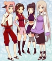 Naruto Girls - naruto-women fan art