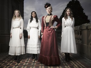 Natalie Dormer at 'Picnic at Hanging Rock' promotional picture