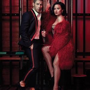 Nick and Demi