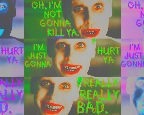 Suicide Squad wallpaper entitled Oh, I'm not gonna kill ya...