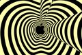 Optical Illusion - apple photo