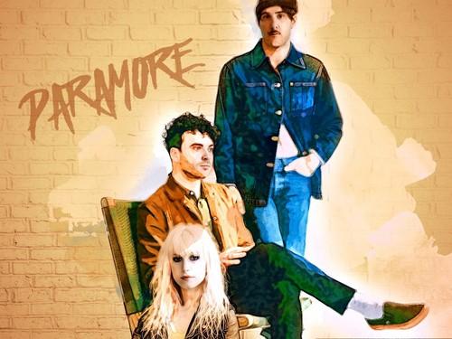 Paramore wolpeyper entitled Paramore 2017