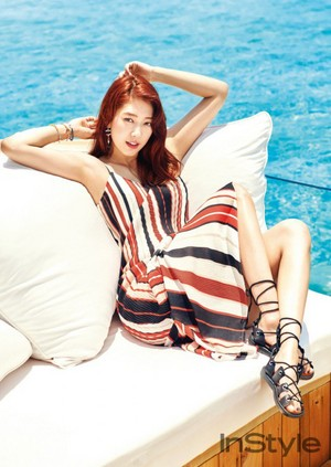 Park Shin Hye for 'InStyle'