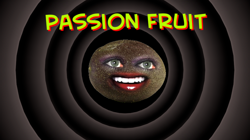 The Annoying Orange wallpaper titled Passion Fruit wallpaper