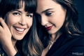 Patty Jenkins and Gal Gadot - The Hollywood Reporter Photoshoot - 2017