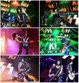 Paul ~KISSWORLD 2017 Tour Ibanez PS120 flag guitars - kiss photo
