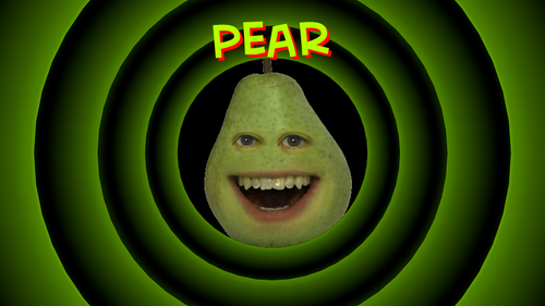 The Annoying Orange wallpaper titled Pear wallpaper