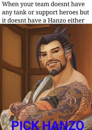Pick Hanzo