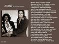 Poem Pertaining To Michael's Mother  - michael-jackson photo