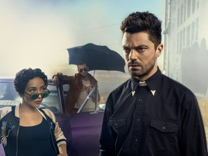 Preacher tulip O'Hare, Jesse Custer and Cassidy Season 2 Official Picture